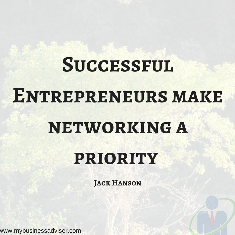Successful Entrepreneurs make networking a priority
