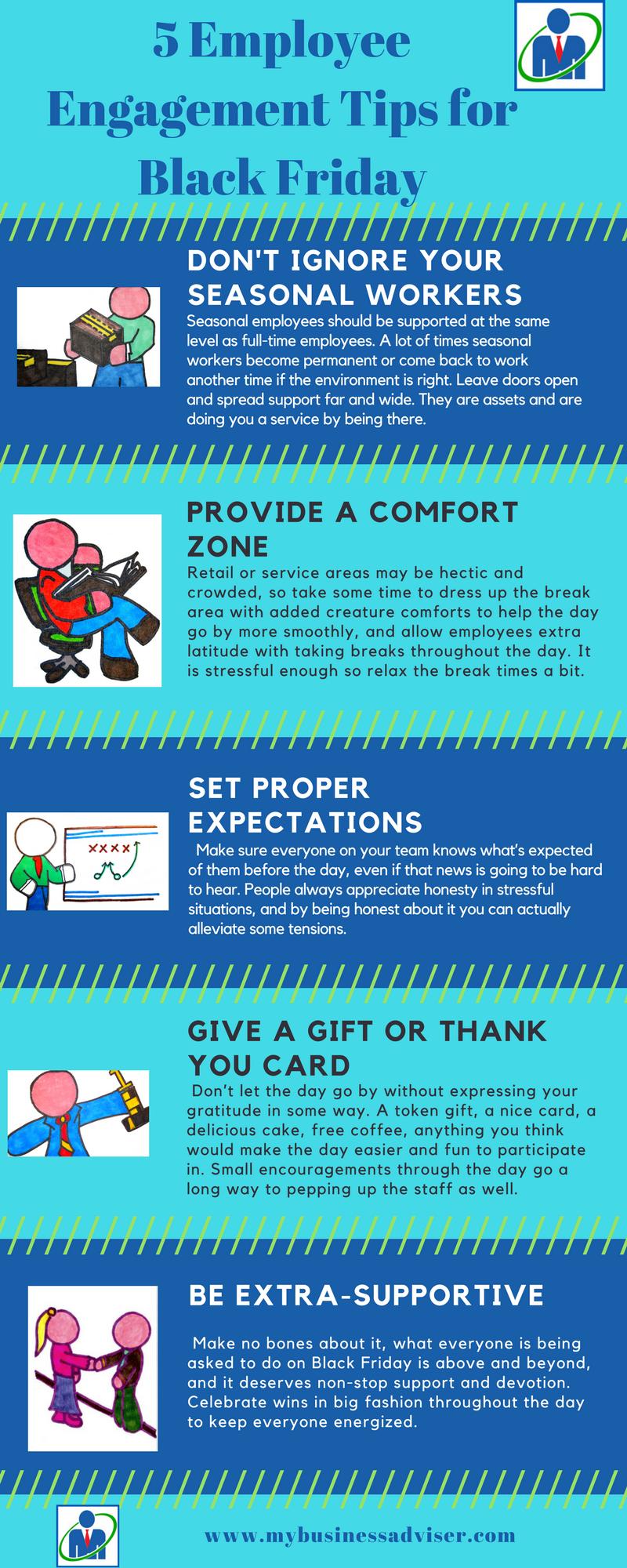 5 Engagement Tips for Black Friday