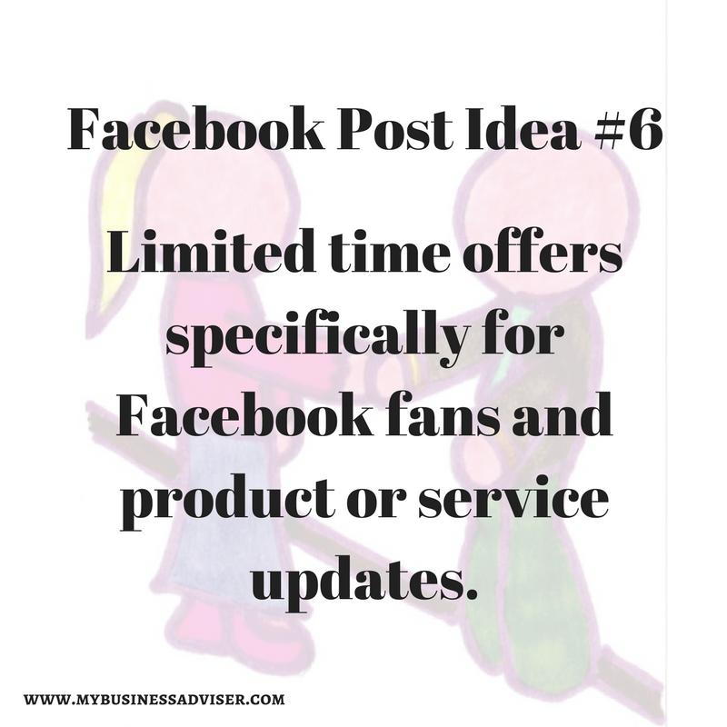 Facebook Post Idea #6